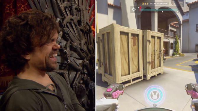 Tyrion et Cersei Lannister qui jouent à Overwatch !