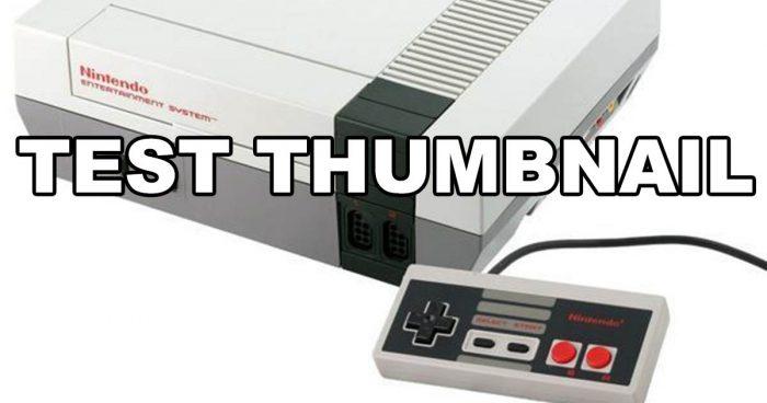 NES – Test – 8Bits