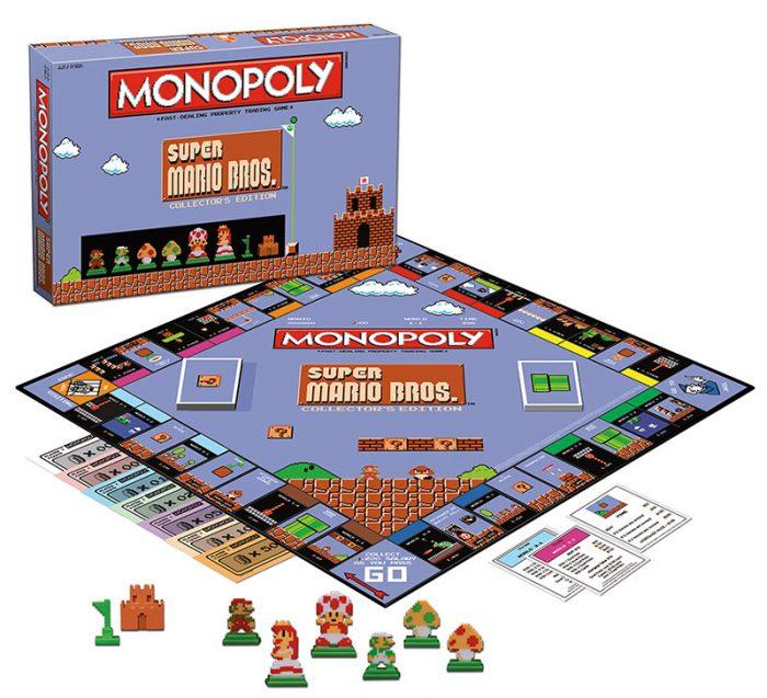 Édition spécial Mario Bros Monopoly!