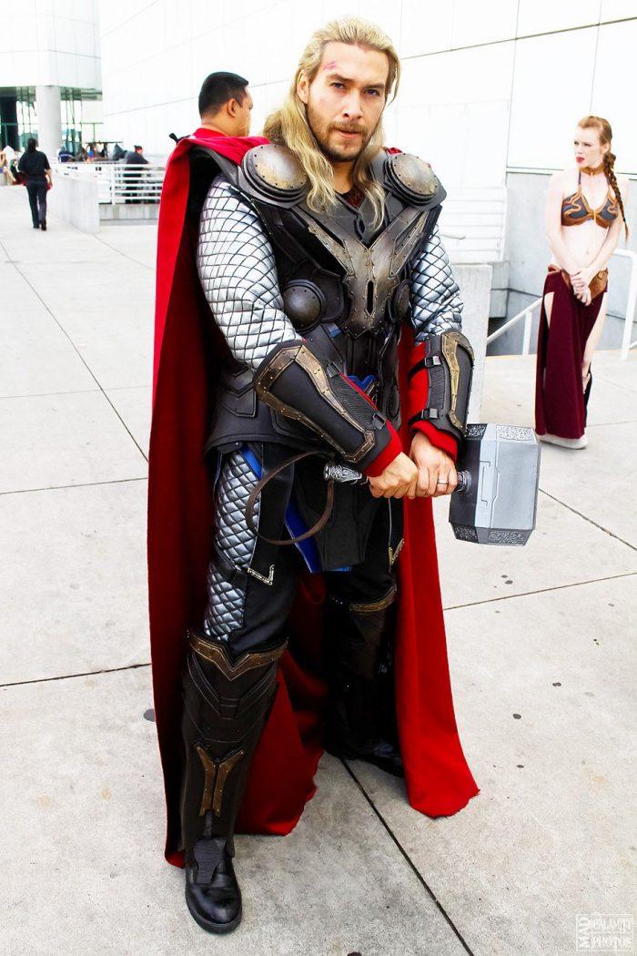 Cosplay EPIC de Thor !