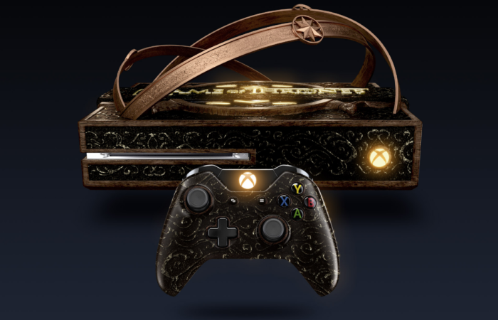 Microsoft dévoile une Xbox One spécial Game Of Thrones!