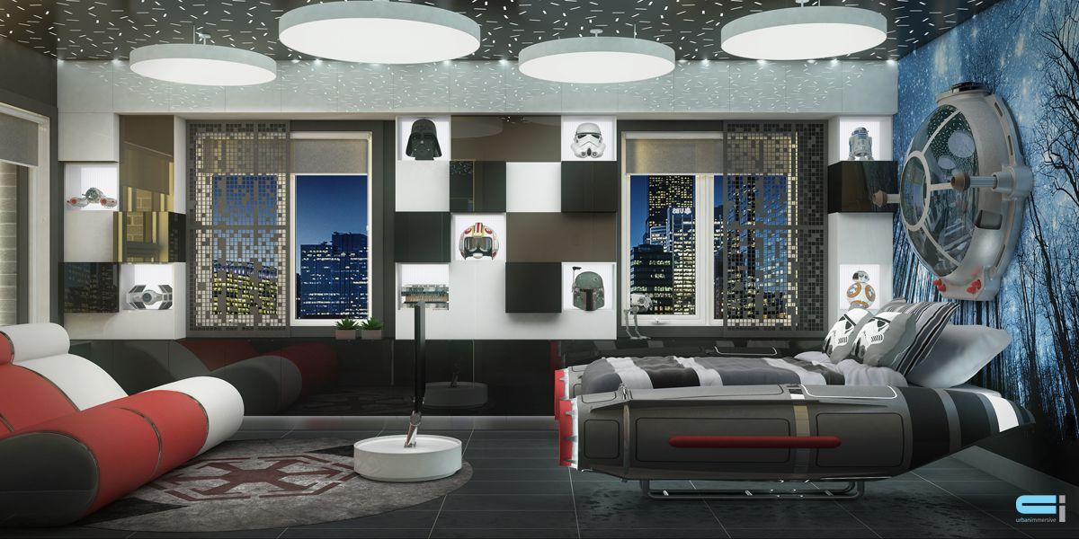 chambre star wars avec les meilleures collections d 39 images. Black Bedroom Furniture Sets. Home Design Ideas