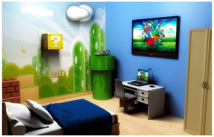 Diy Mario Bedroom Decor Architecture Home Design