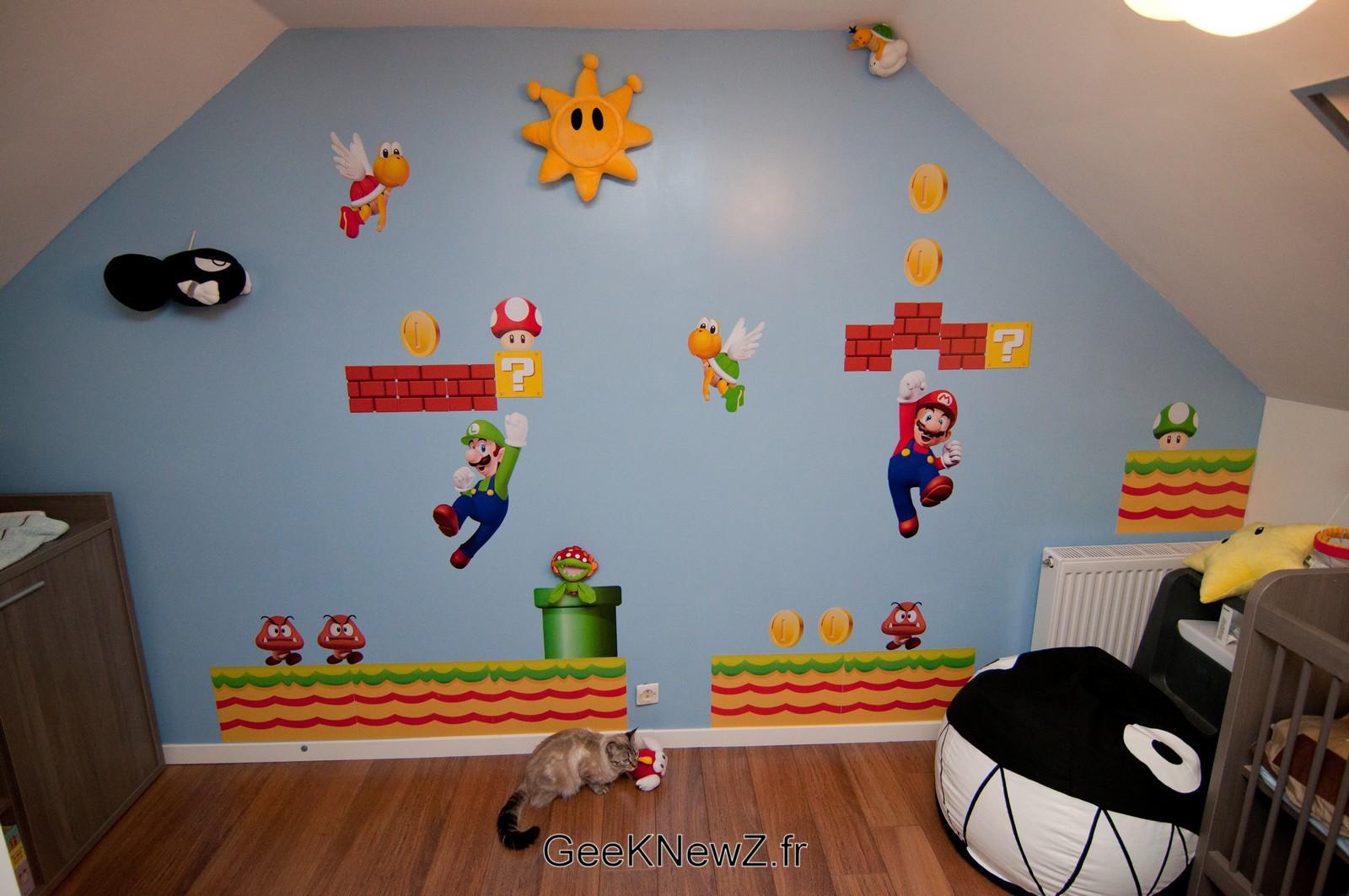 Des Chambres De Boss Cr 233 233 Es Par Des Fans De Mario Geekqc Ca