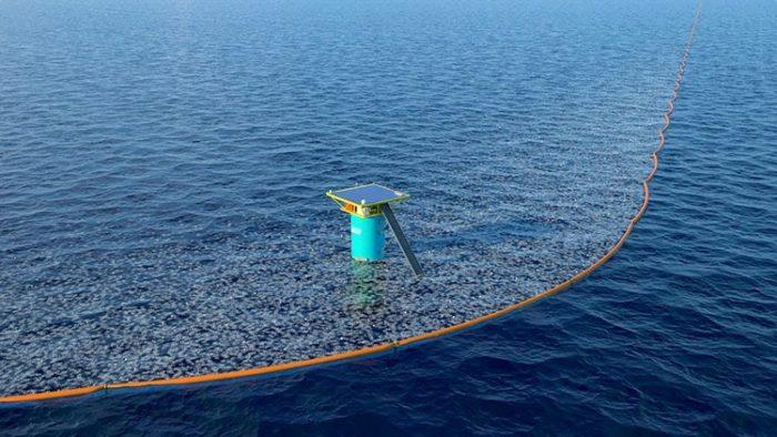 Ocean Cleanup: Le dépollueur a été mis en place.