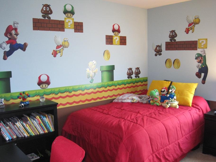 parker's mario room 002