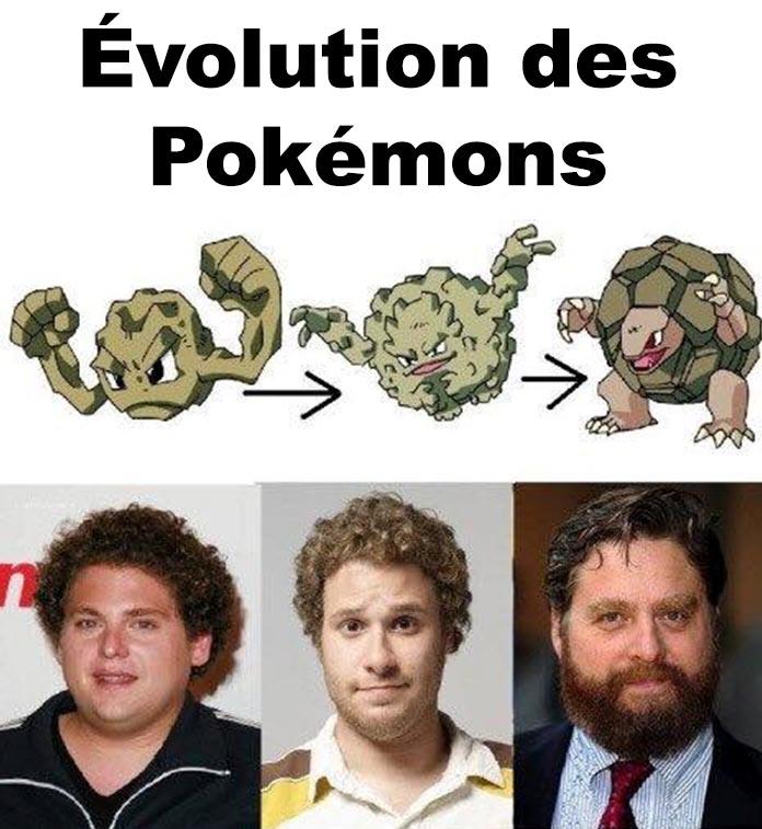 Évolution des Pokémons
