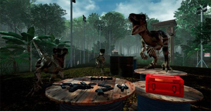 Island 359: Un jeu de survie dans le monde des dinosaures et tout cela en réalité virtuelle!