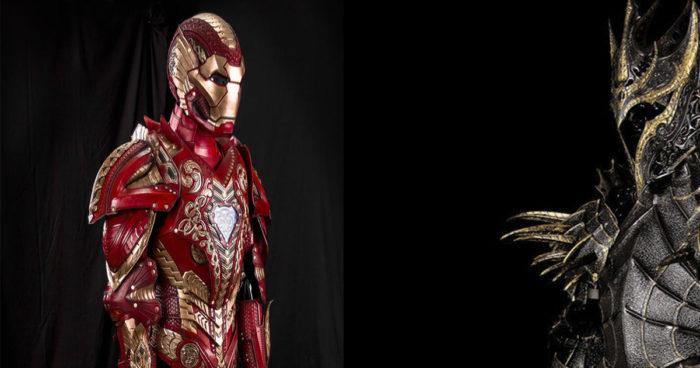 Un artiste a créé les armures médiévales d'Iron Man, Sauron, Loki, le Joker, Darth Vader et plusieurs autres!