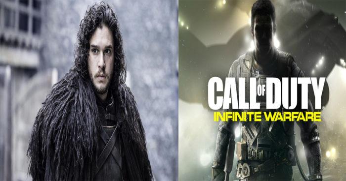 Kit Harington (John Snow dans Game of Throne) sera le méchant dans le prochain Call Of Duty infinite Warfare!