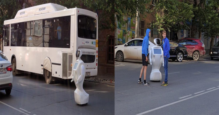 Un robot s'évade de son laboratoire en Russie!