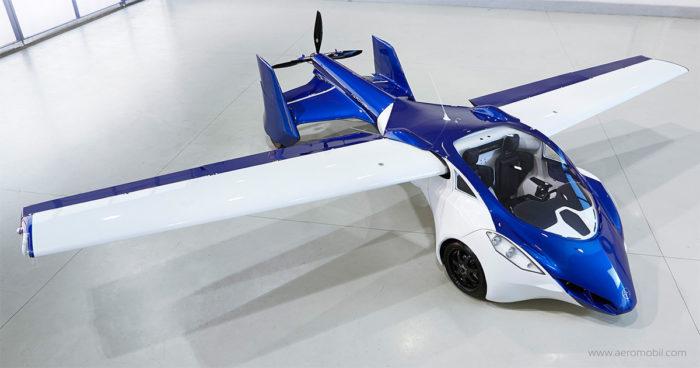Le cofondateur de Google, Larry Page, investit dans les voitures volantes!