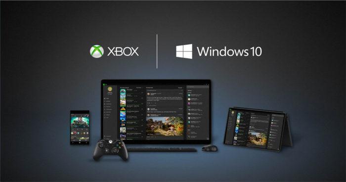 Microsoft confirme qu'il y aura du cross platform entre Xbox One et Windows 10!