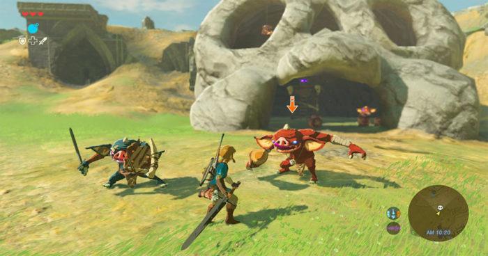 Zelda Breath of the Wild: Vous pouvez maintenant voir à quoi ressembleront les combats dans le prochain Zelda!