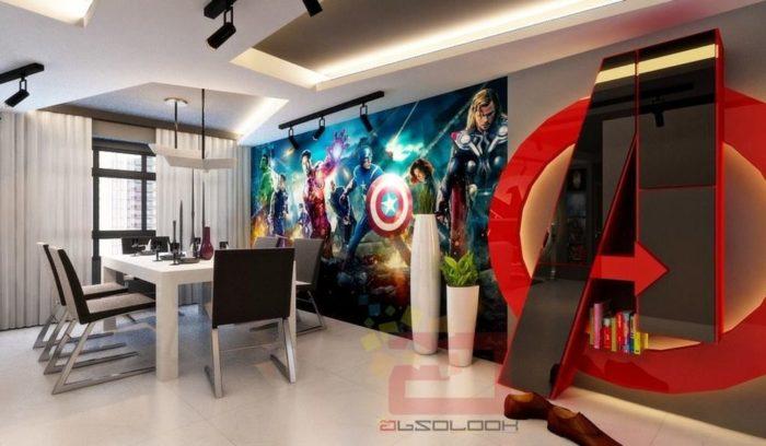 Des appartements de rêve pour les fans d'Avengers!