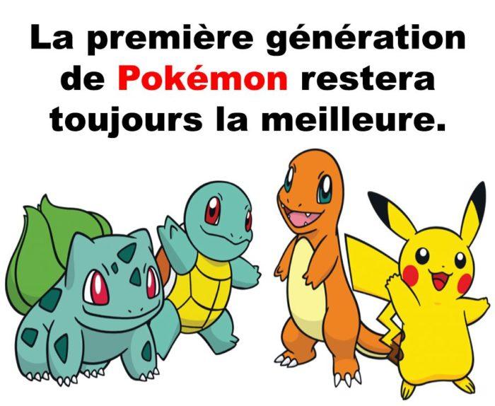 La meilleure génération!