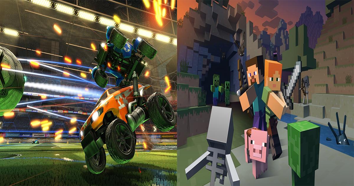 minecraft_rocket_league