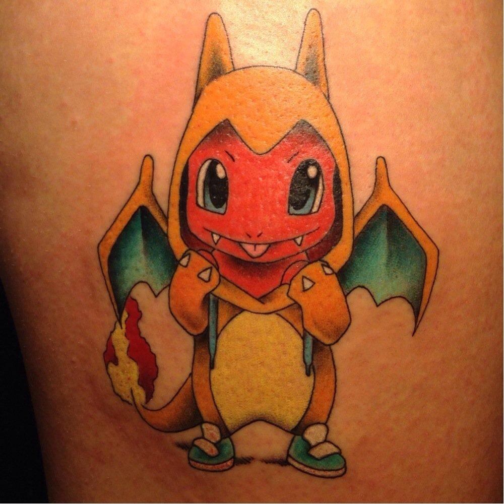 Cannabis Pokemon Tattoos Designs