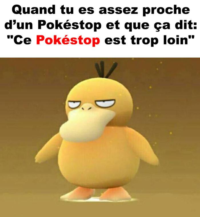 Ce moment à Pokémon Go…