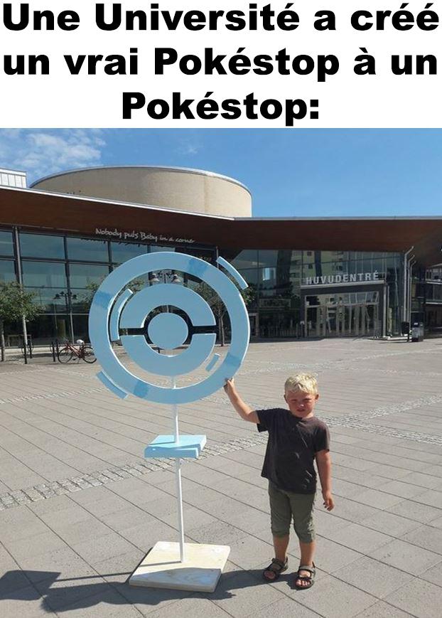 Une Université a créé un vrai Pokéstop!