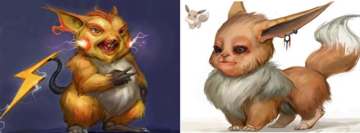 27 Pokémons imaginé dans la vraie vie avec un petit côté terrifiant!