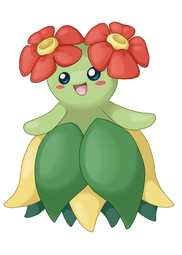 bellossom_by_mistickyumon-d4z4n2j