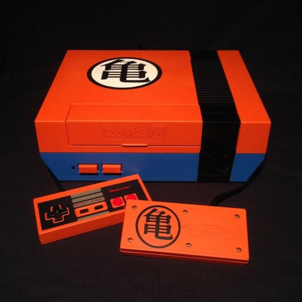 console-nintendo-nes-custom-dragon-ball-z