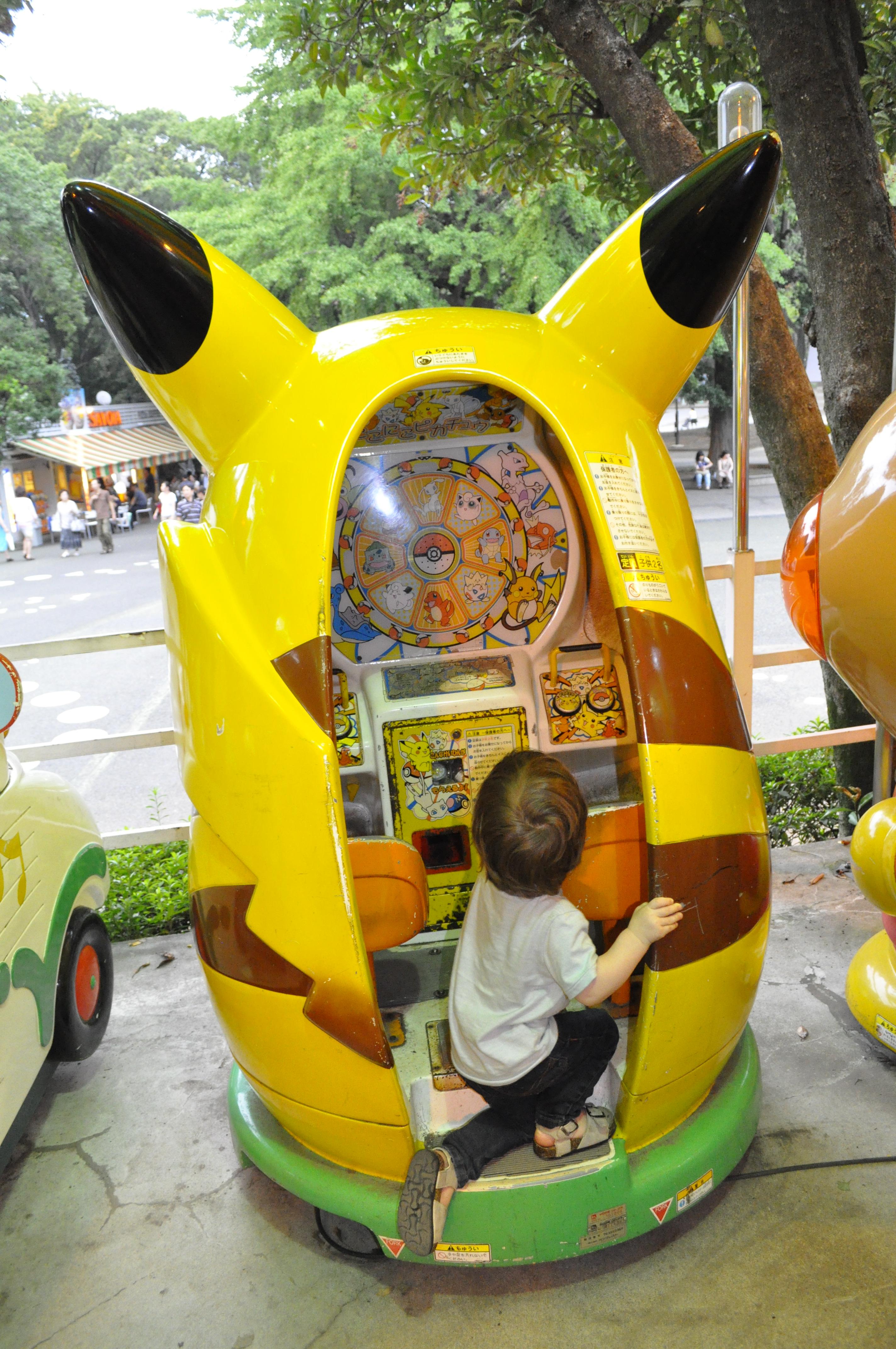 kids-japan-ueno-amusement-park-tokyo-pikachu