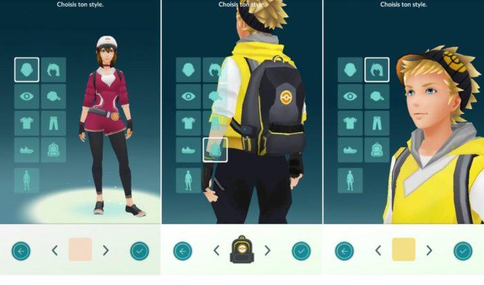 Pokémon Go: Voici comment changer l'apparence de votre personnage!