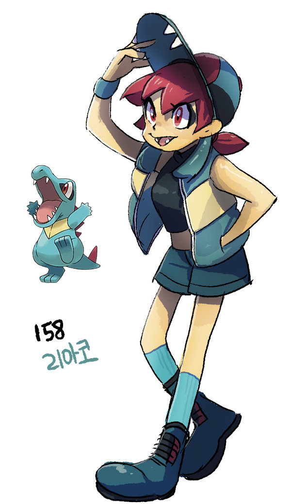 158-totodile-by-tamtamdi-d9p4abe
