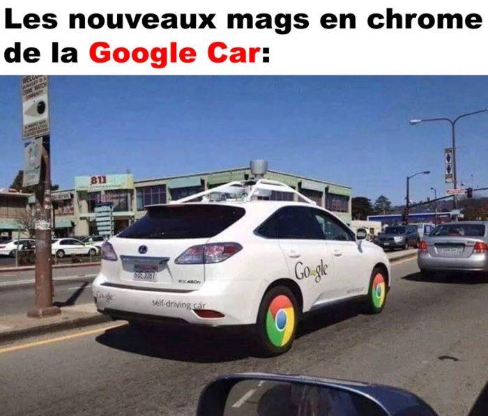Les nouveaux mags de la Google Car!