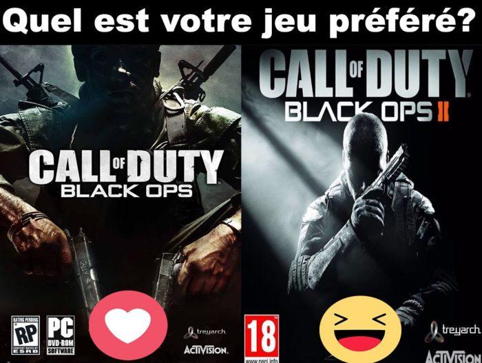 Quel est votre jeu préféré?