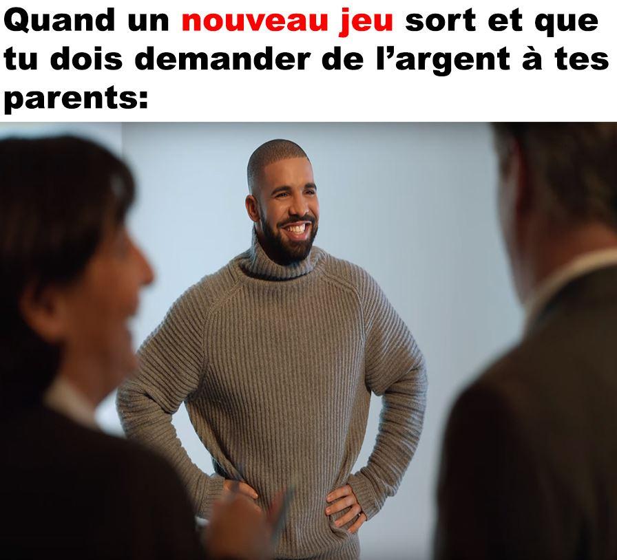 Quand tu dois demander de l'argent à tes parents - GeekQc.ca