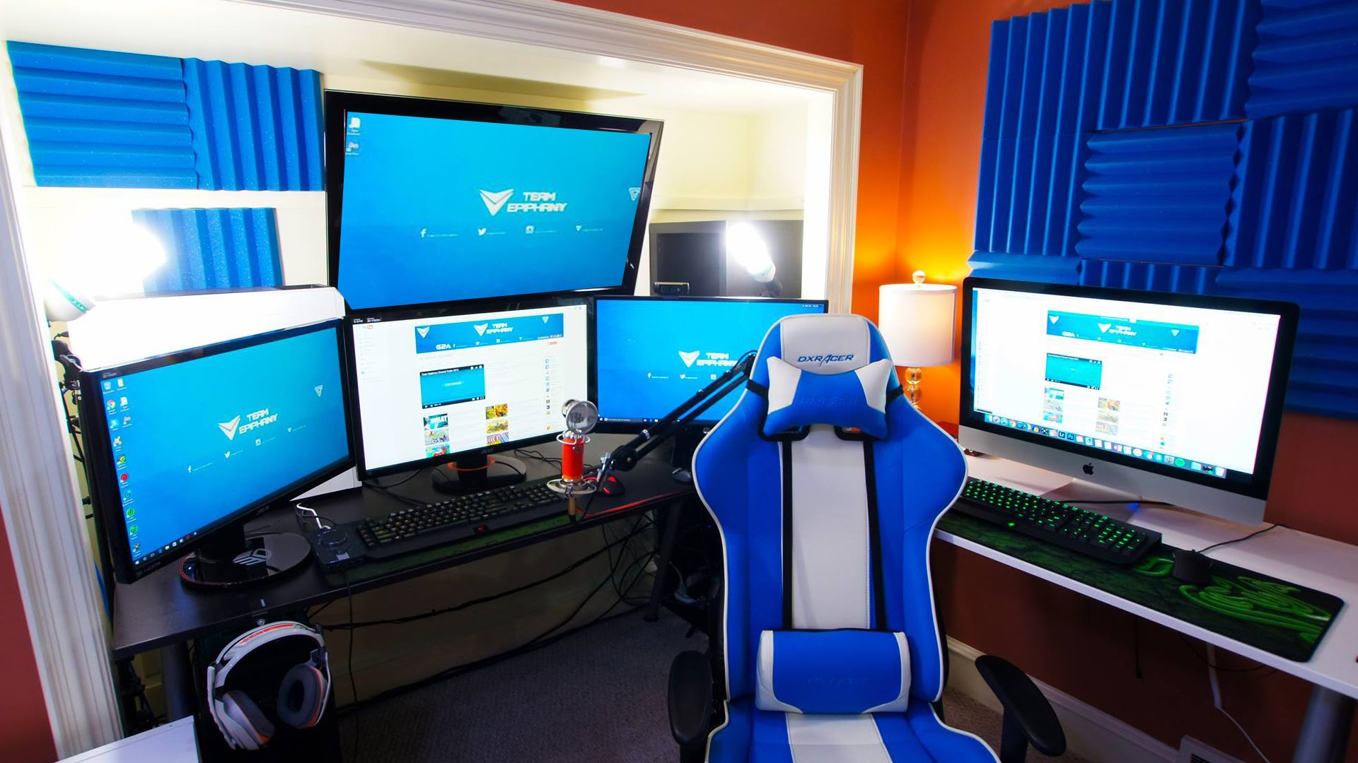 Studio Bedroom Ideas 35 Setup De Gaming Epic Pour Les Gamer Sur Pc Geekqc Ca