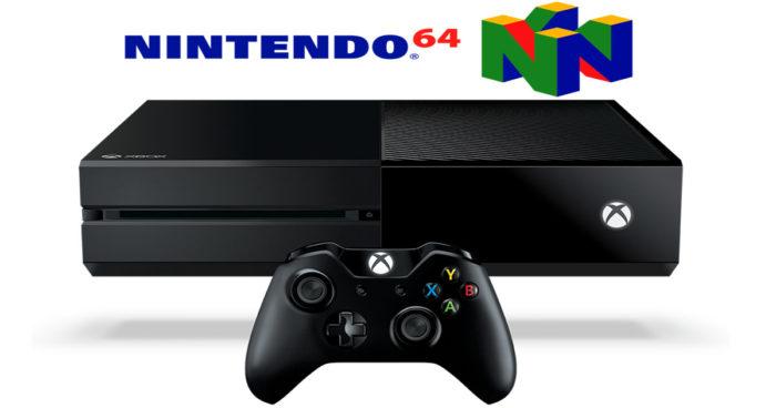 Un émulateur N64 est maintenant disponible sur la Xbox One!