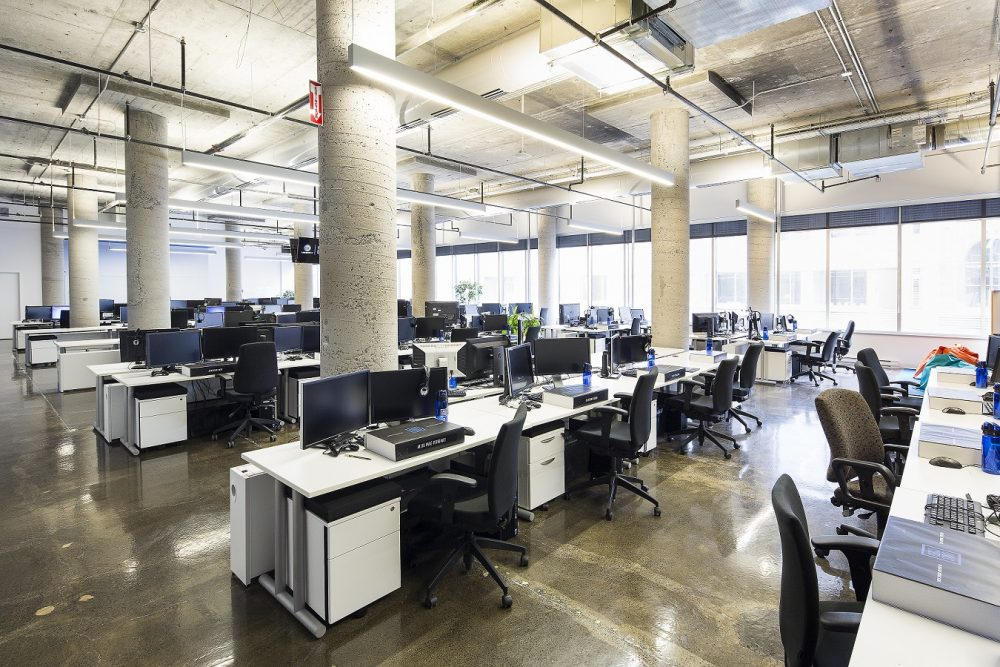Réaménagement majeur des bureaux d ubisoft montréal jodoin