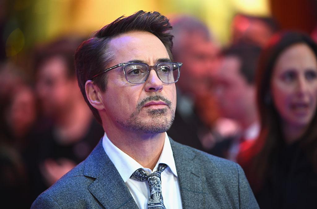 "LONDON, ENGLAND - APRIL 26: Robert Downey Jr. arrives for UK film premiere ""Captain America: Civil War"" at Vue Westfield on April 26, 2016 in London, England (Photo by Ian Gavan/Getty Images)"