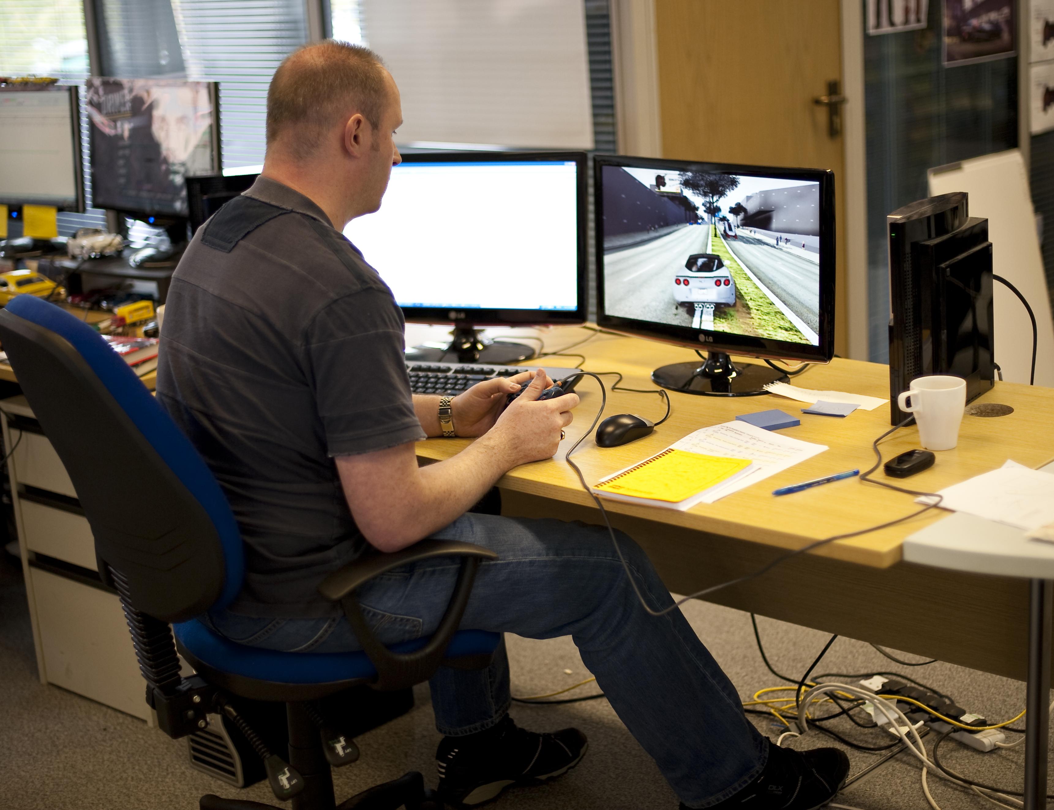 Ubisoft, Inside Newcastle Office,Press Kit Shots