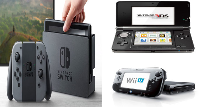 La Nintendo Switch compatible avec la 3DS et la Wii U?