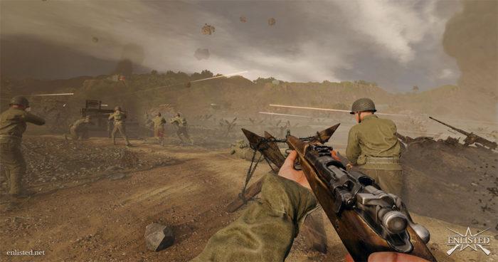 Enlisted : Un nouveau FPS sur la Deuxième Guerre mondiale qui a promis des affrontements 50 VS 50!