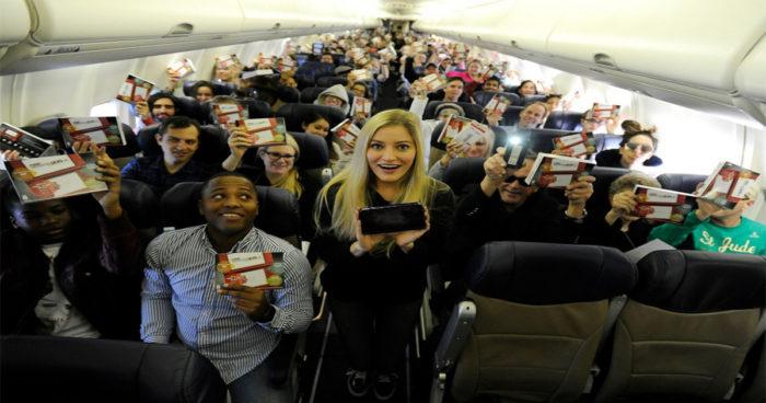 Nintendo a offert une 3DS XL en cadeau à absolument TOUS les passagers d'une avion!