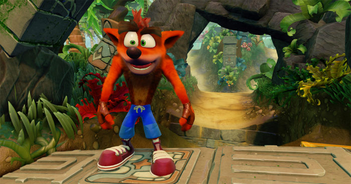 Crash Bandicoot: Comparaison graphique entre la version PS1 et le remaster qui sortira sur PS4.