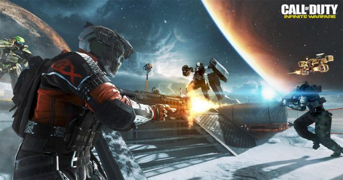 Call of Duty: Infinite Warfare sera offert gratuitement pendant une durée limitée!