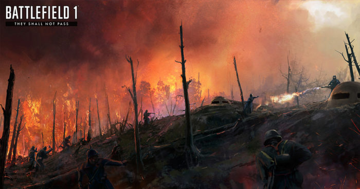 Battlefield 1: Les détails du premier DLC du jeu qui sera appelé «They Shall not Pass»