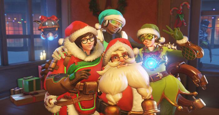Overwatch: L'événement de Noël est maintenant disponible!