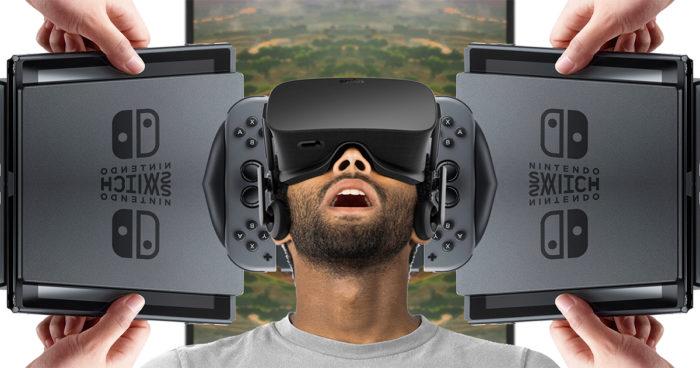 Nintendo Switch: La console serait aussi compatible avec la réalité virtuelle selon un nouveau brevet!
