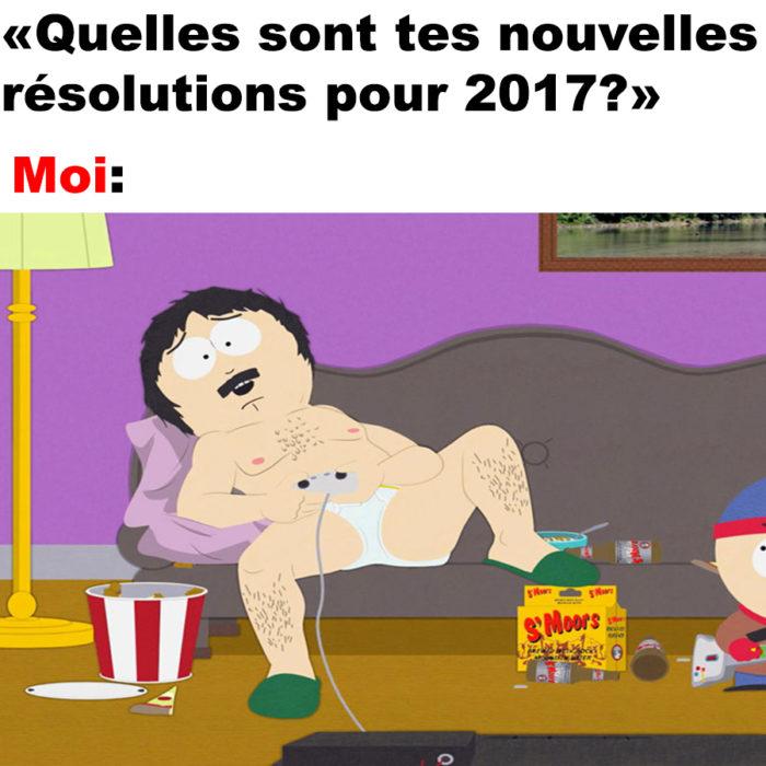 Quelles sont tes nouvelles résolutions pour 2017?
