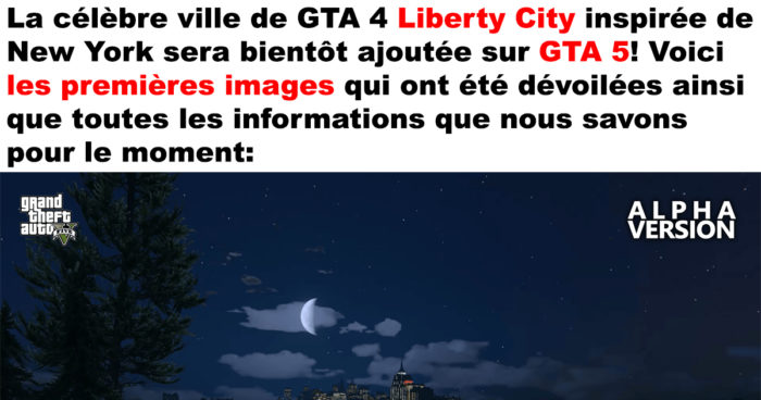 La ville de Liberty City dans GTA 5