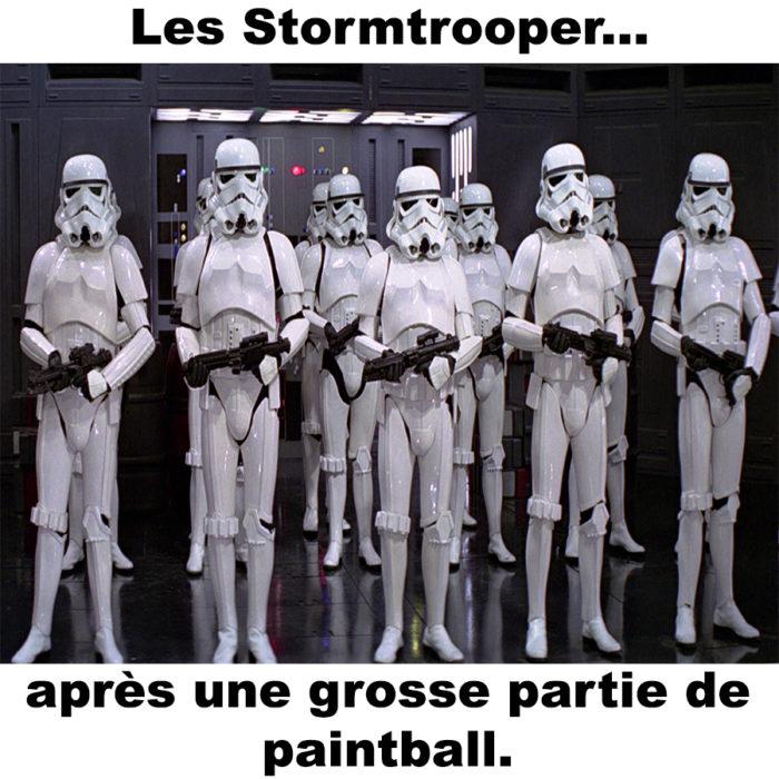 Les Stormtrooper…