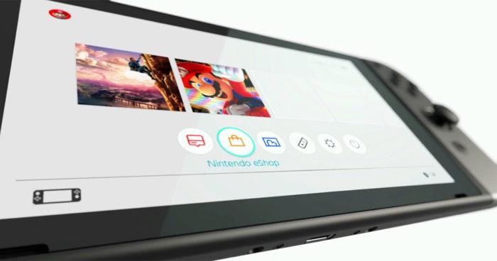 Nintendo Switch: Une nouvelle photo qui montre l'interface de la console a fuité!